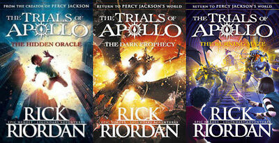 Rick-Riordan-Complete-Trials-Of-Apollo-Series